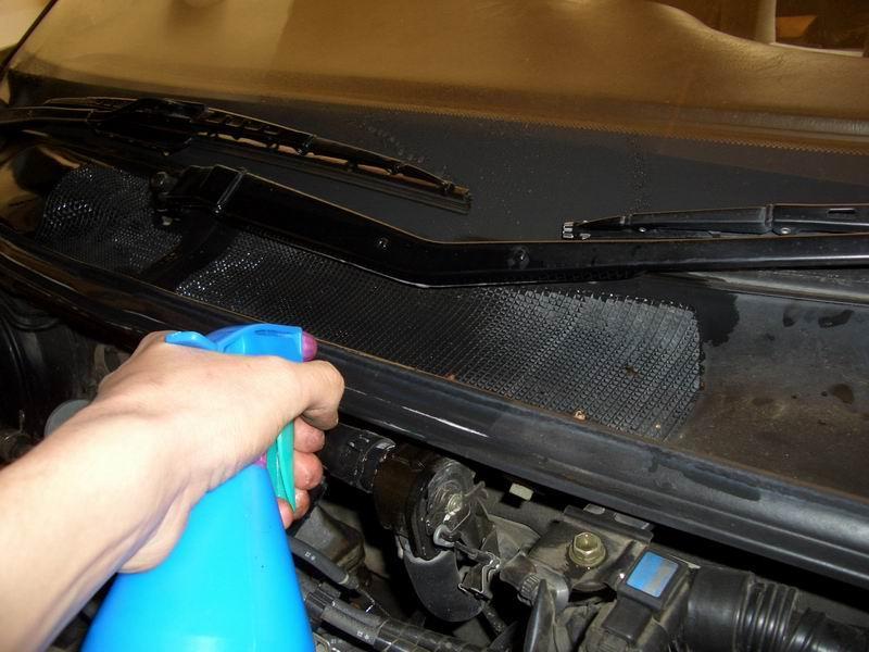 Очистка кондиционера автомобиля