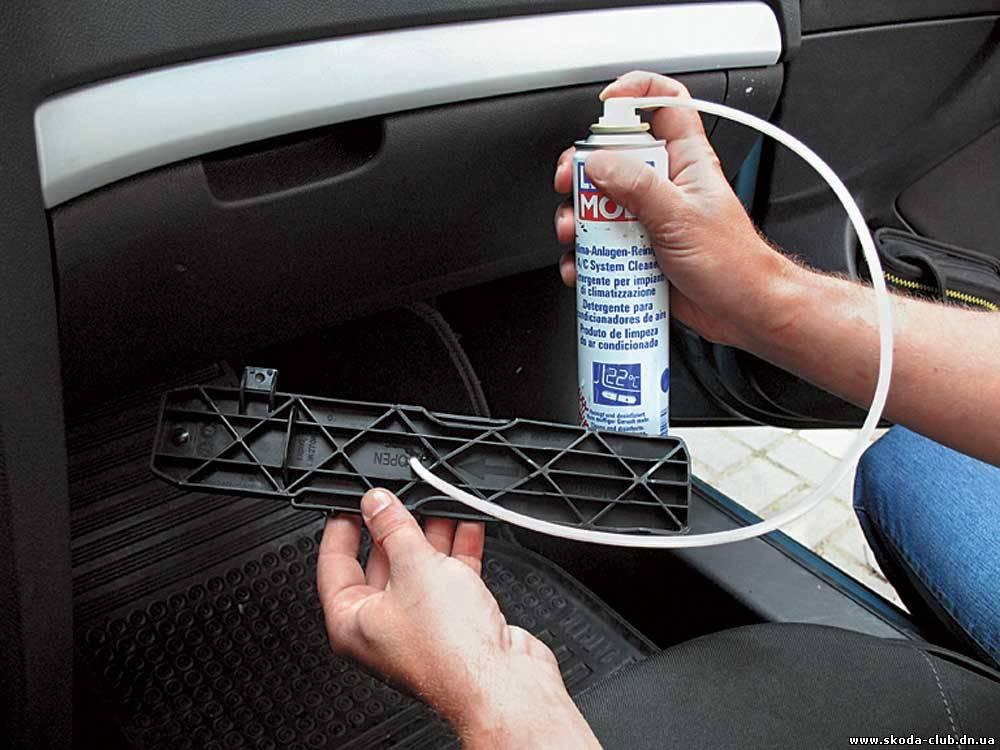 Почистить кондиционер своими руками в машину 1009