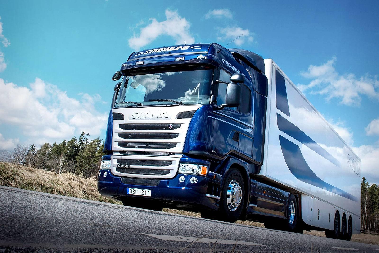 Заправка кондиционера авто Scania
