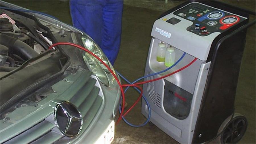 Диагностика кондиционера авто в Киеве