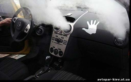 Чистка кондиционера в авто