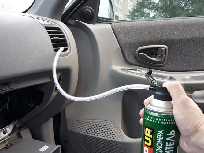 Чистка автомобильных кондиционеров