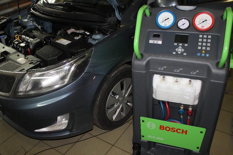 Заправить фреоном кондиционер в машине