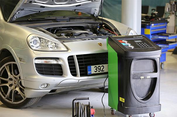 Заправка автомобильных кондиционеров, цена